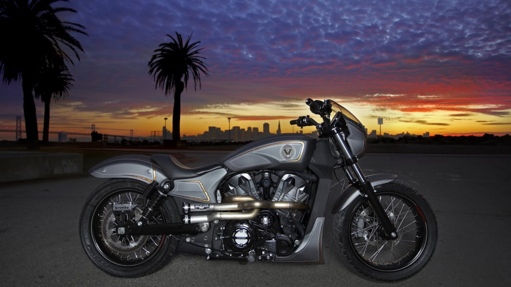 Victory Combustion Concept sunset