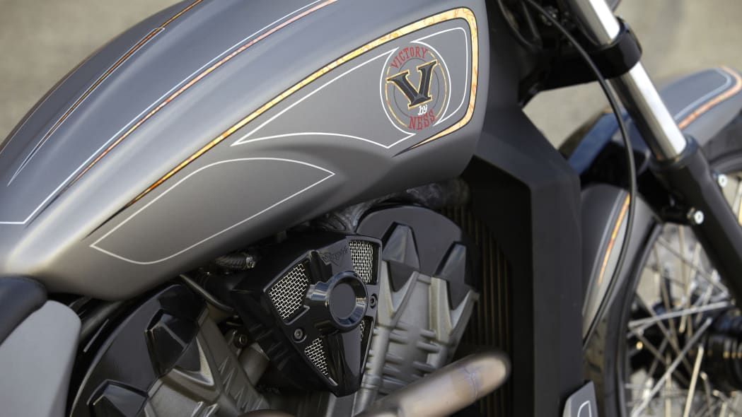 Victory Combustion engine detail