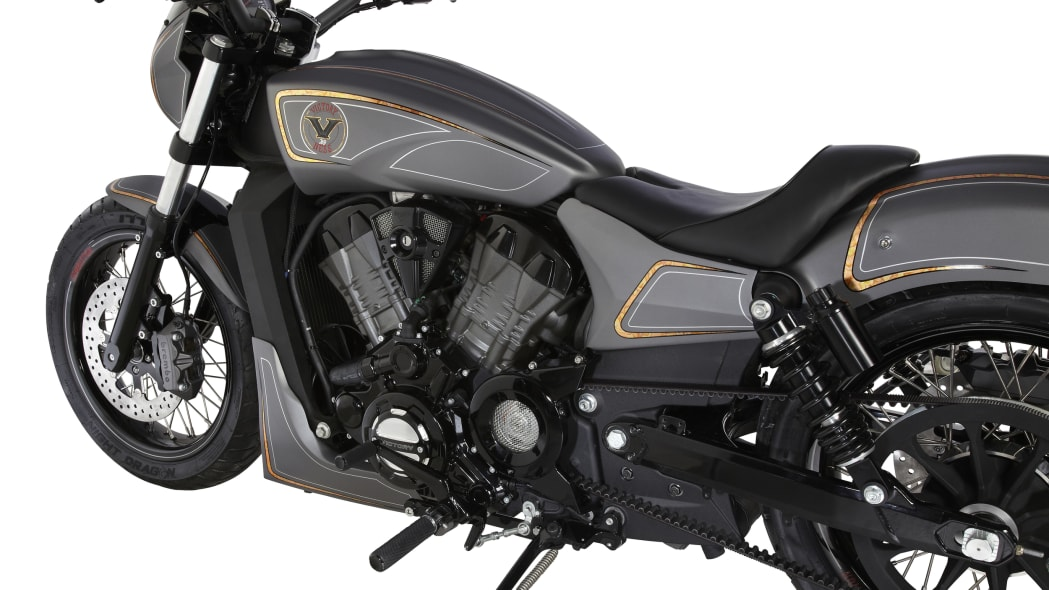 Victory Combustion studio flank