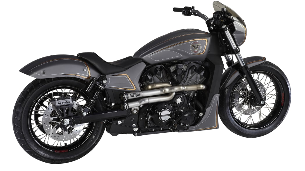 Victory Combustion Concept studio rear 3/4