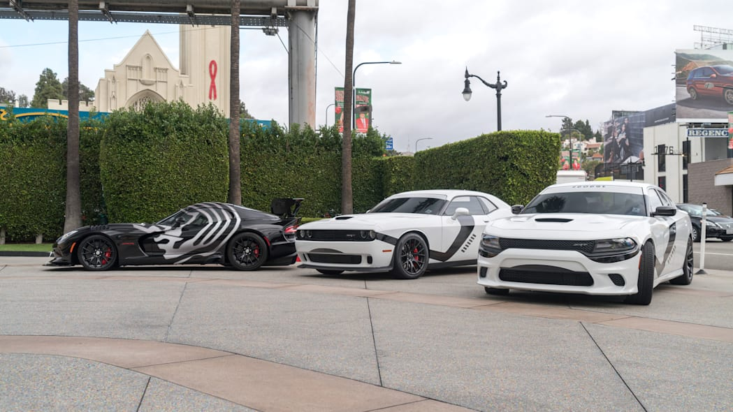Star Wars Dodge muscle cars