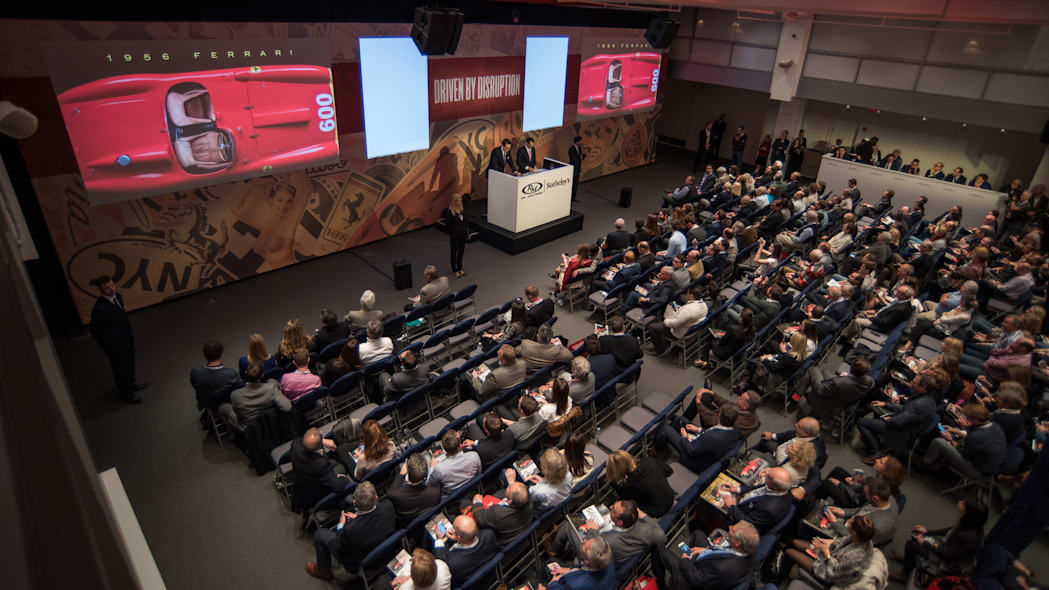 RM Sotheby's Driven by Disruption auction