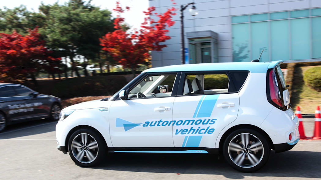 kia soul autonomous vehicle