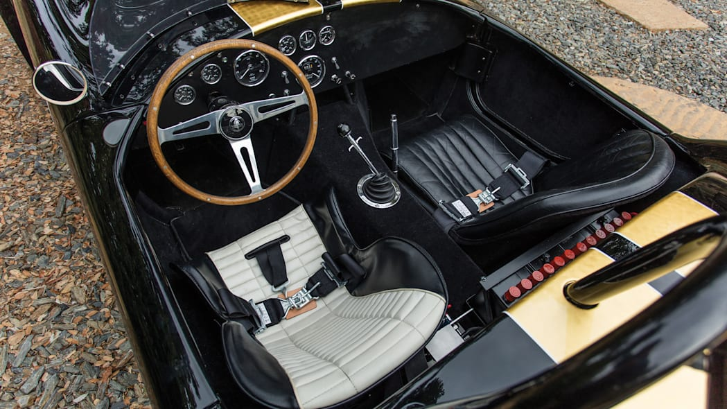 1965 Shelby 427 Competition Cobra interior