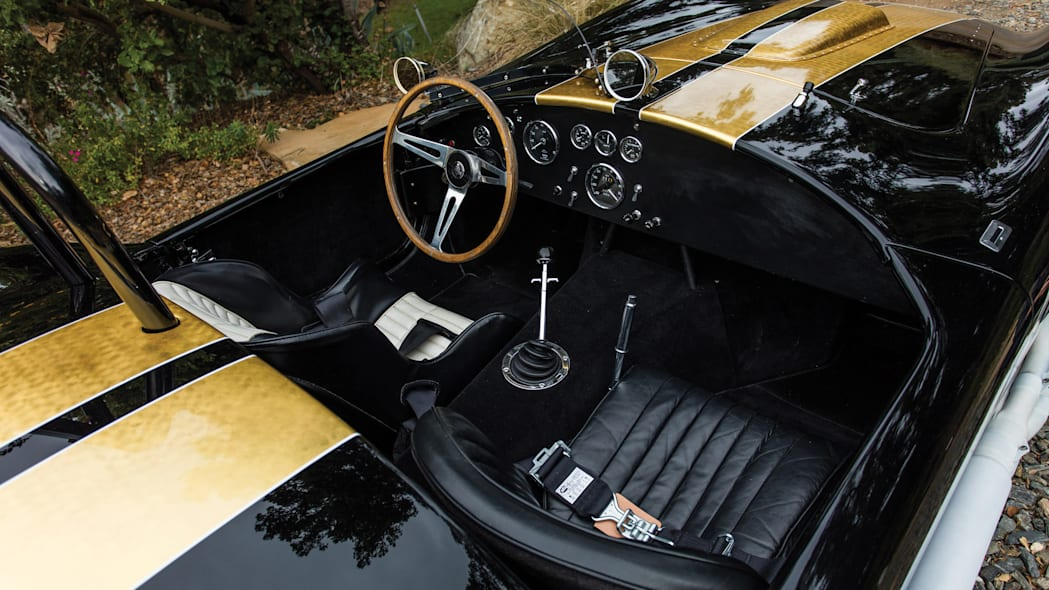 1965 Shelby 427 Competition Cobra cockpit