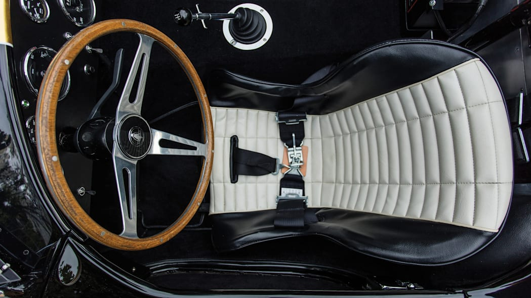 1965 Shelby 427 Competition Cobra driver's seat