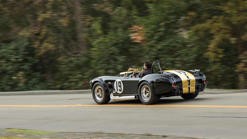 1965 Shelby 427 Competition Cobra rear driving