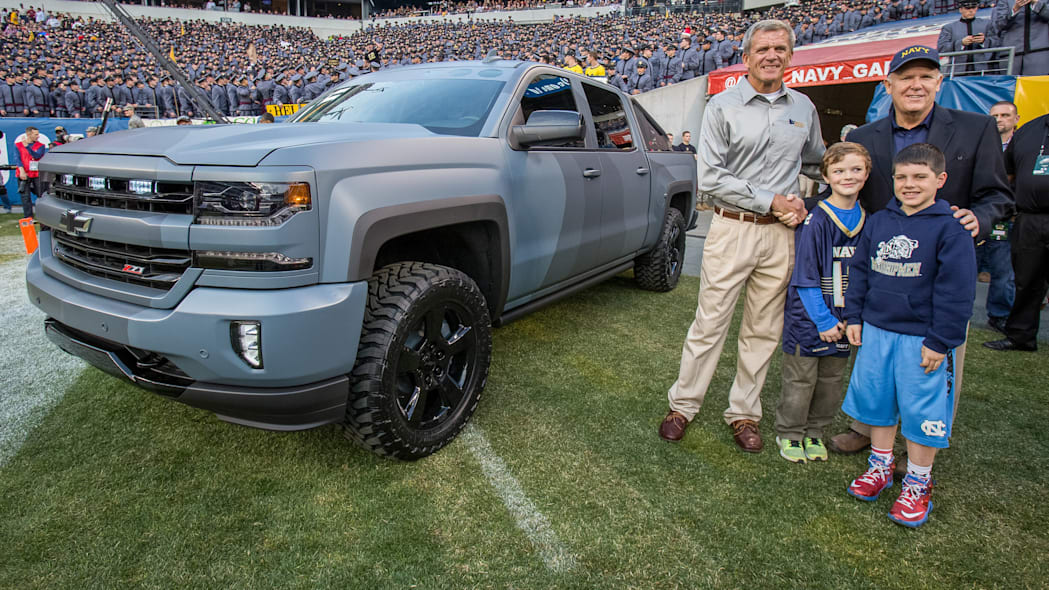 Chevy Silverado Special Ops Army-Navy Game
