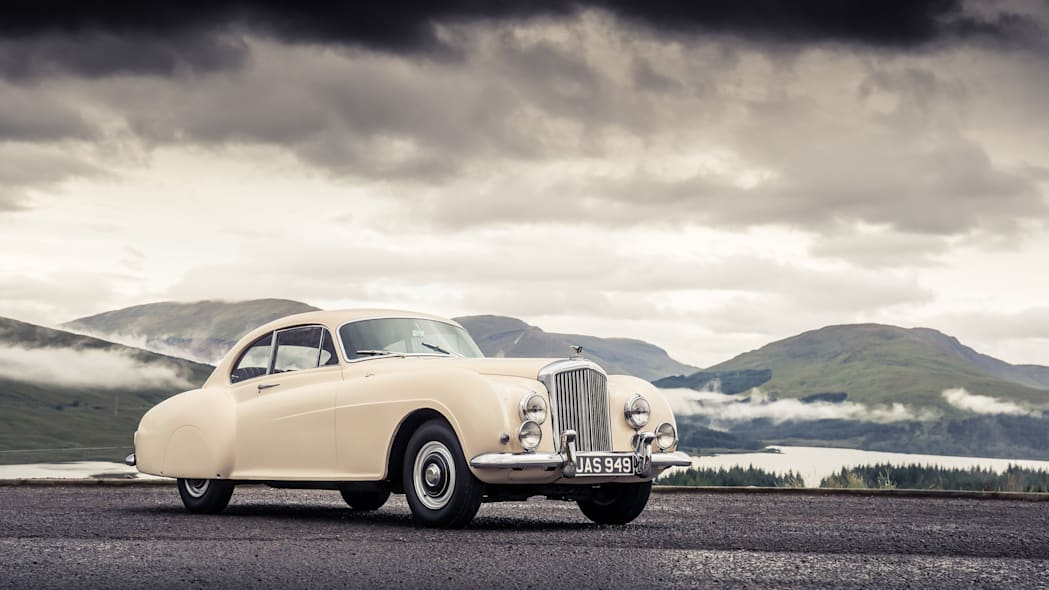 1952 Bentley Continental R-Type front 3/4