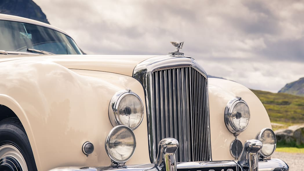 1952 Bentley Continental R-Type front detail