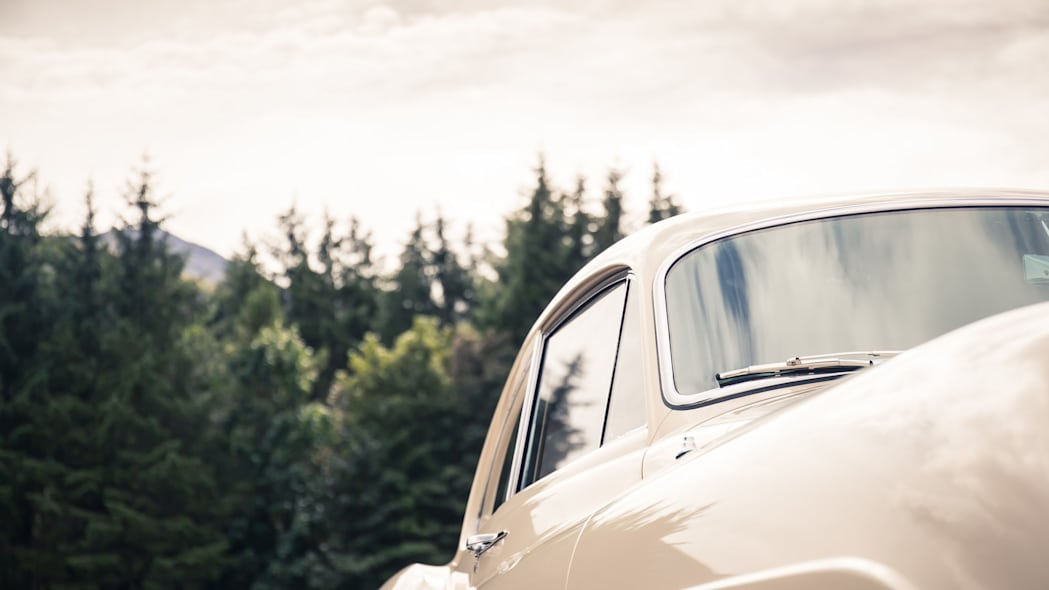 1952 Bentley Continental R-Type side detail