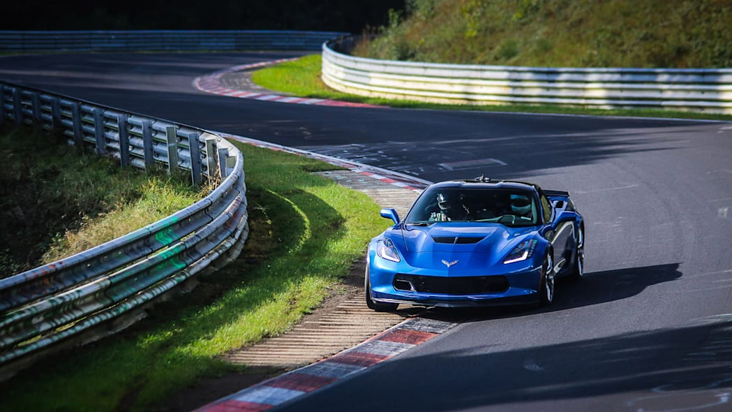2016 nurburgring lap time record chevy corvette z06