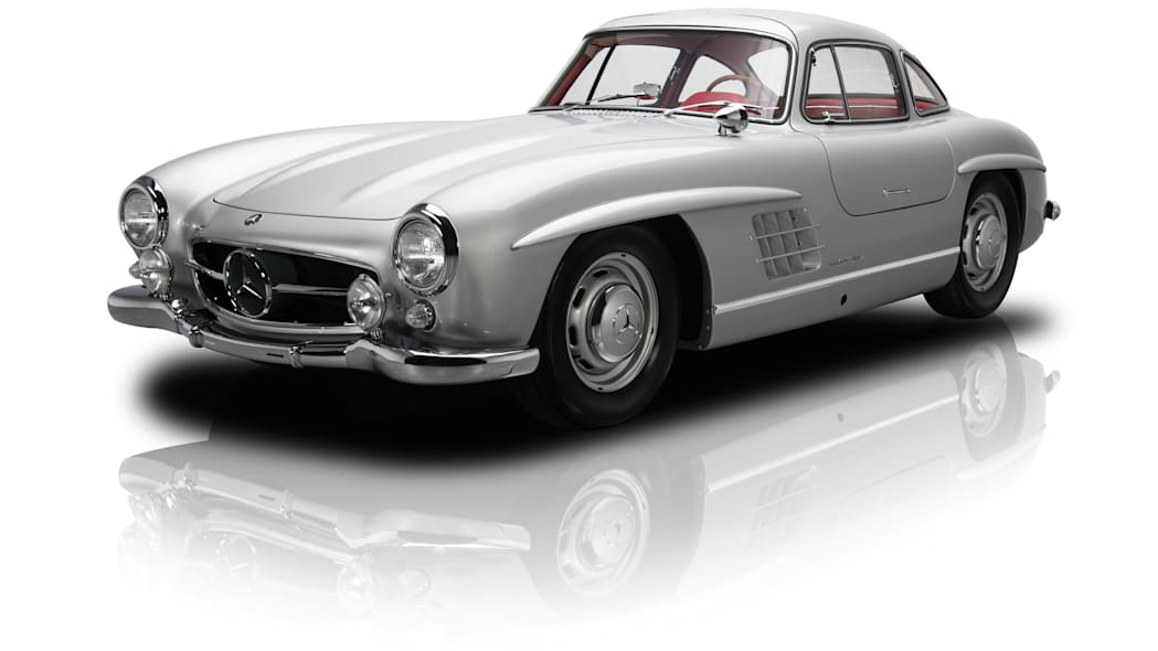 1954 mercedes 300sl three quarters