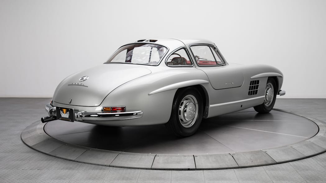 1954 mercedes 300sl rear three quarters