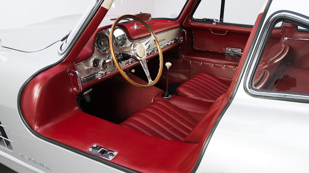 1954 mercedes 300sl interior