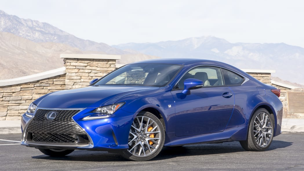 turbocharged coupe two-door lexus rc200t