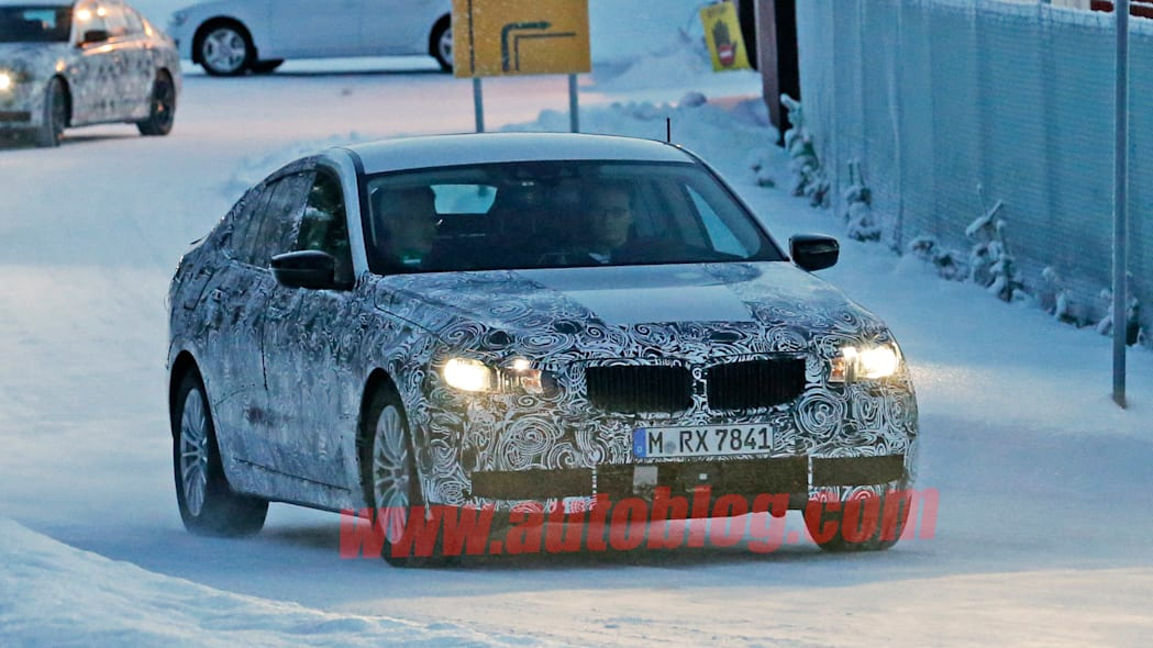 5 series gt bmw winter spy shot