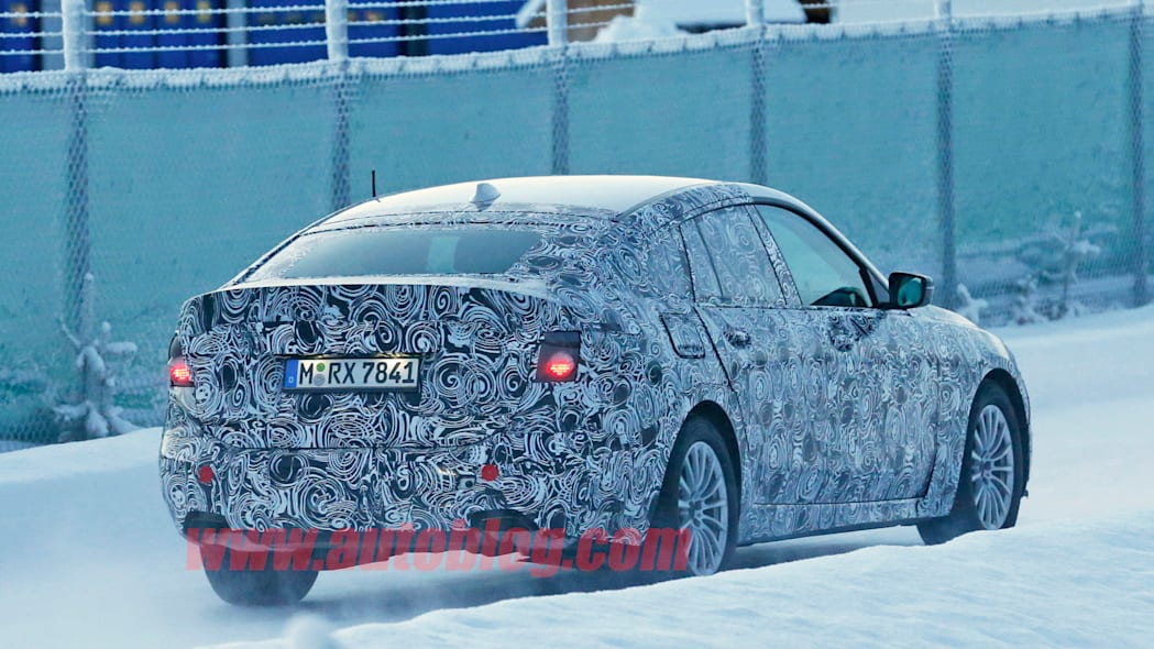 5 series gt spy shot bmw camo winter