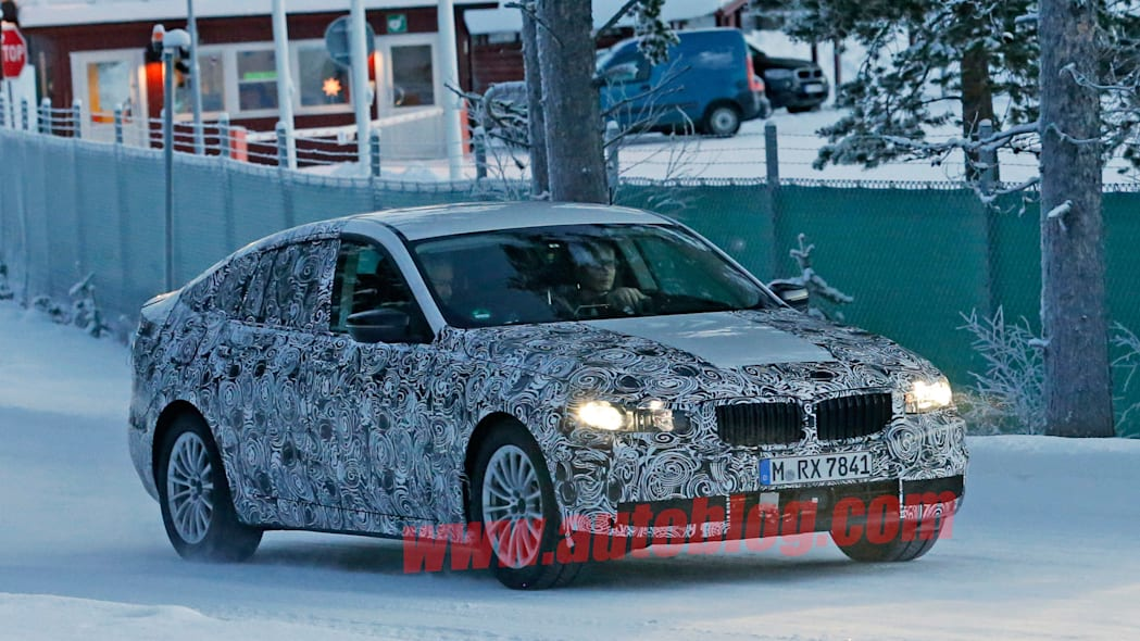 winter testing bmw 5 series gt