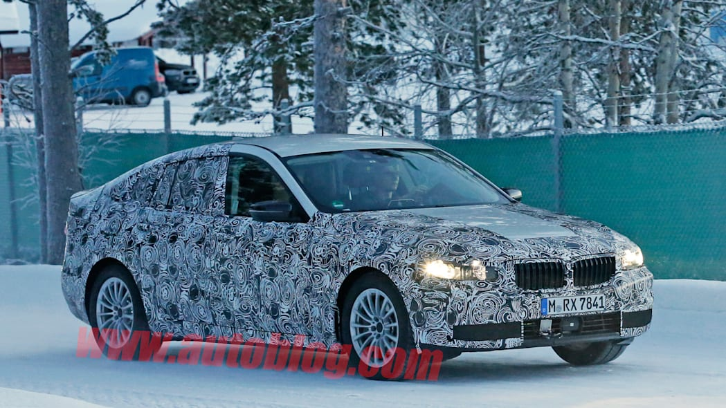 5 series gt gran turismo bmw winter testing