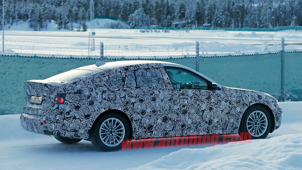 5 series gt camo winter test bmw