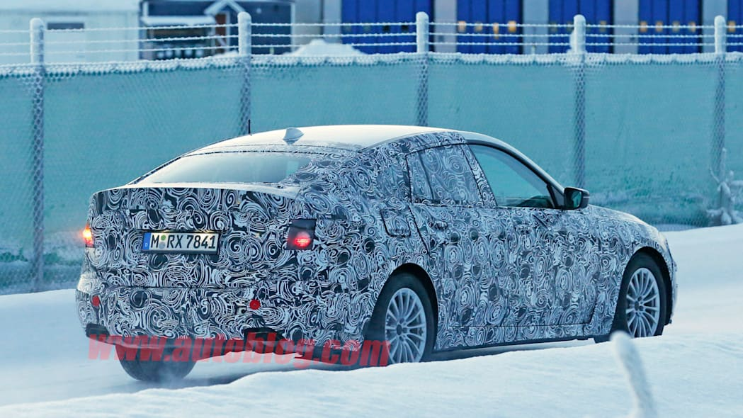 winter testing sweden bmw 5 series spy shots