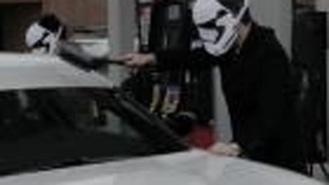 Stormtrooper Dodge Charger Episode V: The Empire Stops for Gas