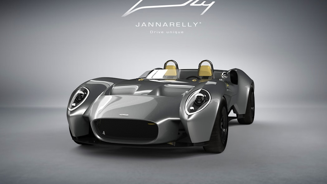 Jannarelly Design-1 silver front 3/4