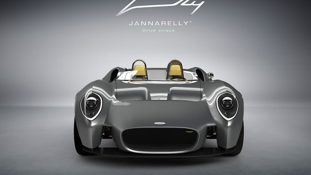 Jannarelly Design-1 silver front