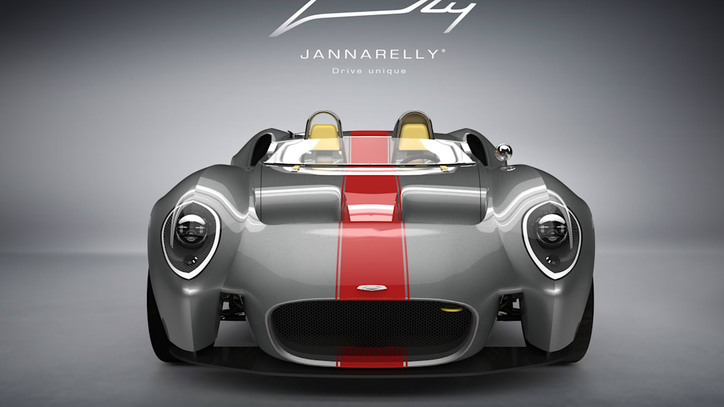 Jannarelly Design-1 red stripe front