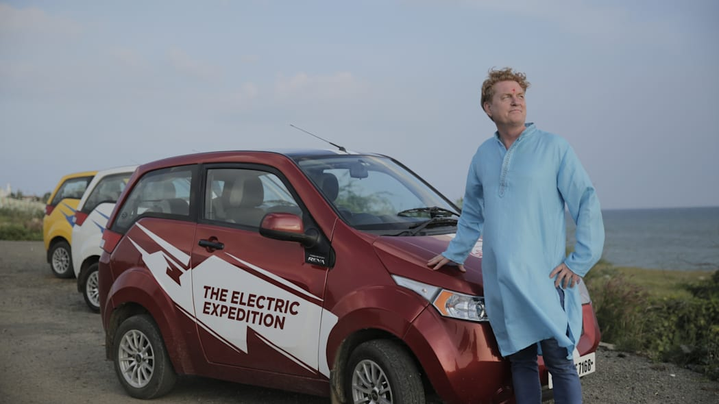 Mahindra Electric Expedition with Gisli Gislason