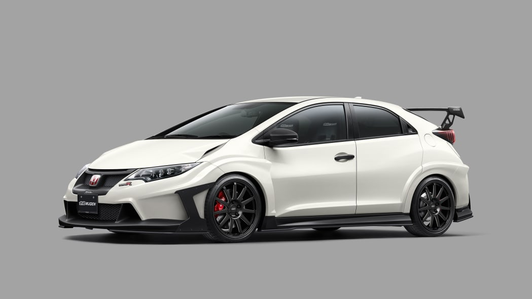 Honda Mugen Civic Type R Concept front 3/4