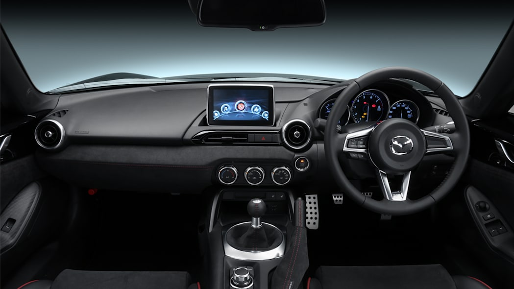 Mazda Roadster RS Racing Concept dashboard