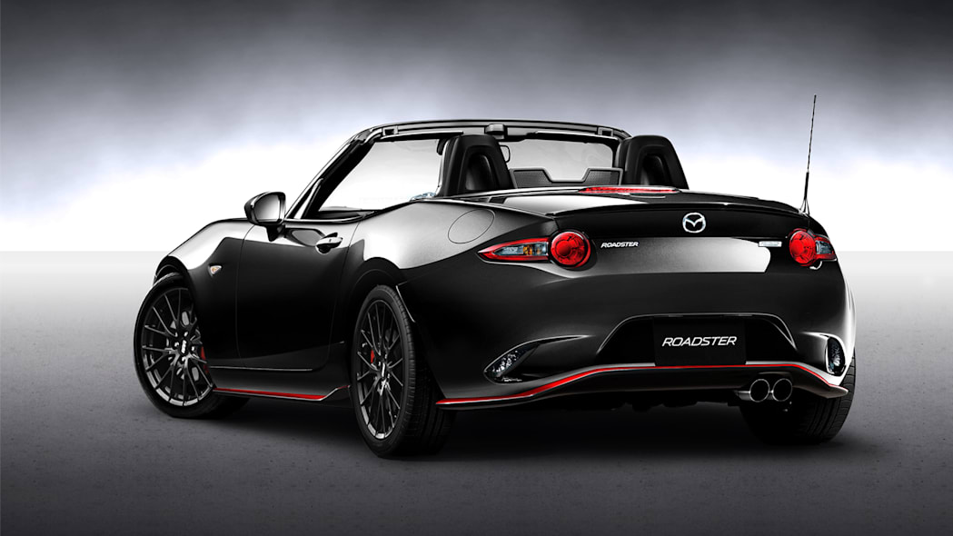 Mazda Roadster RS Racing Concept rear 3/4