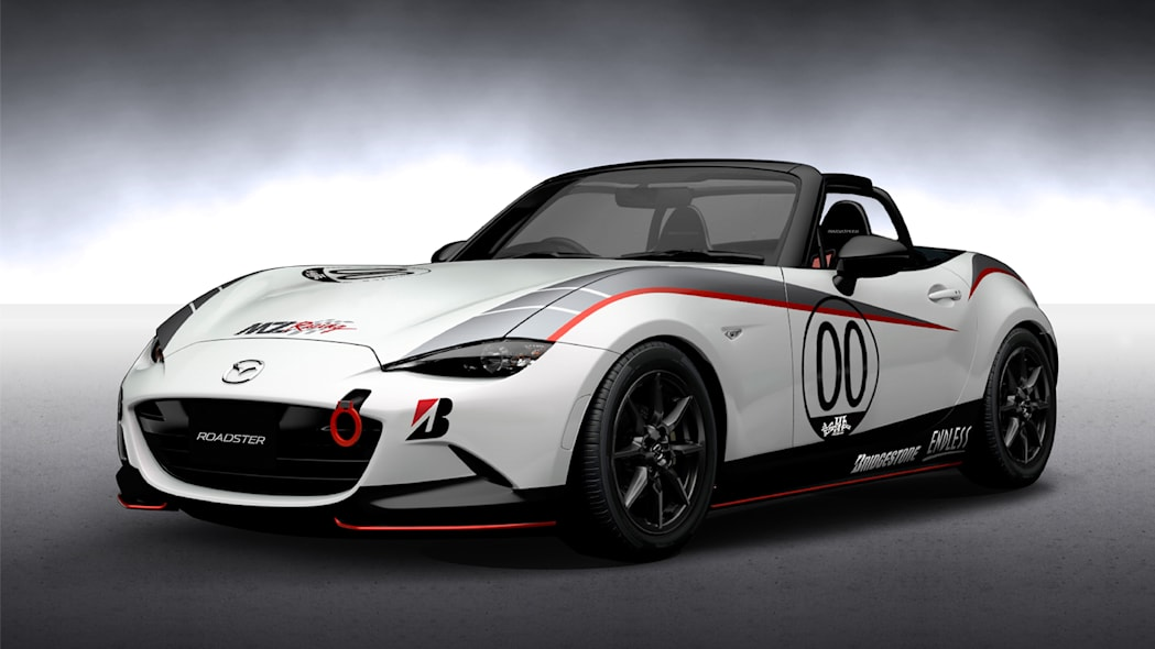 Mazda Roadster NR-A Racing Spec front 3/4