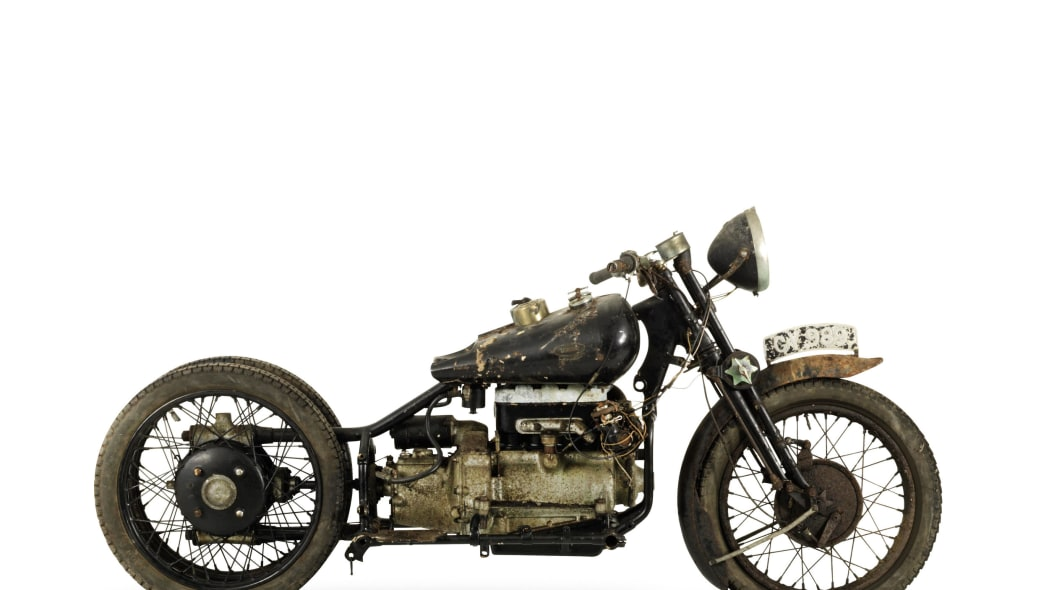 brough superior 750cc bs4 side