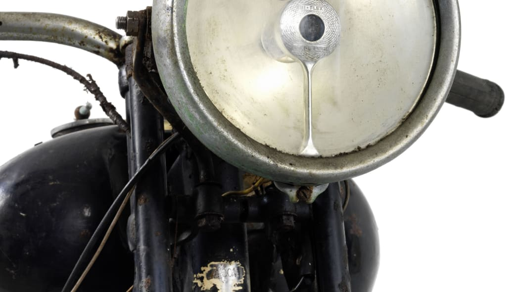 brough superior 750cc bs4 headlight