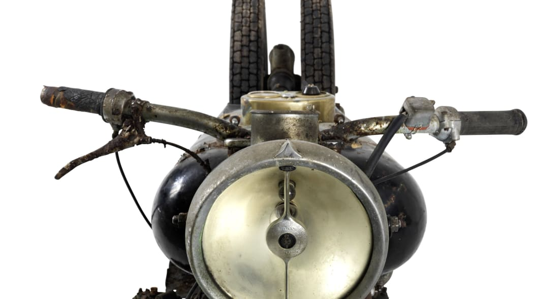 brough superior 750cc bs4 front