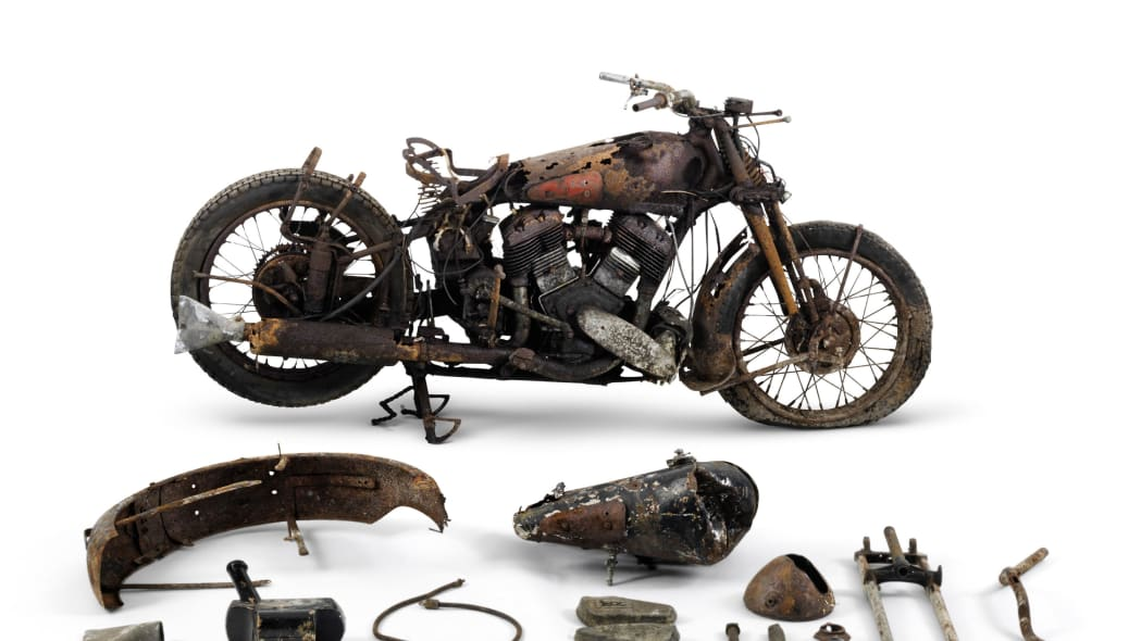 1938 brough superior 1,096cc 11-50hp parts