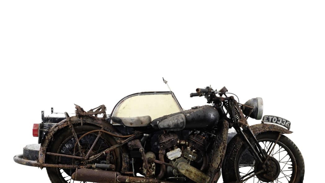 1938 brough superior 982cc ss80 with sidecar