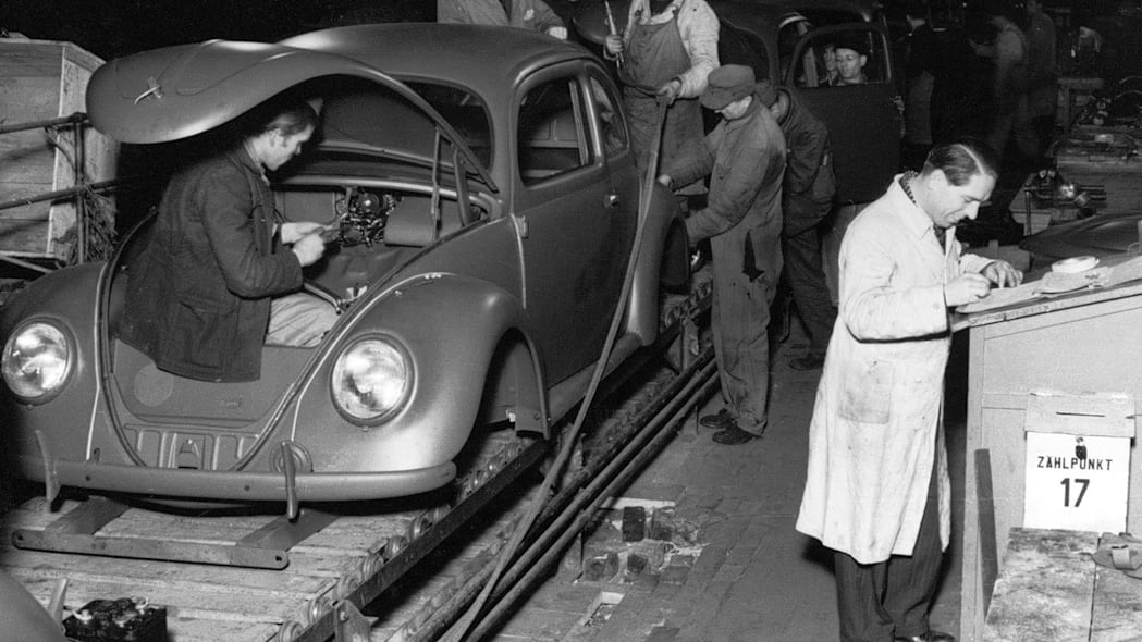 Volkswagen Beetle production Wolfsburg