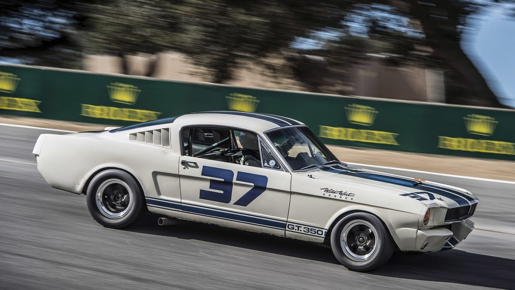 1965 Shelby GT350 at the Monterey Motorsports Reunion