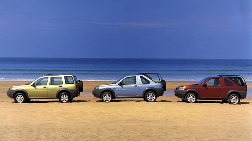 Land Rover Freelander variants