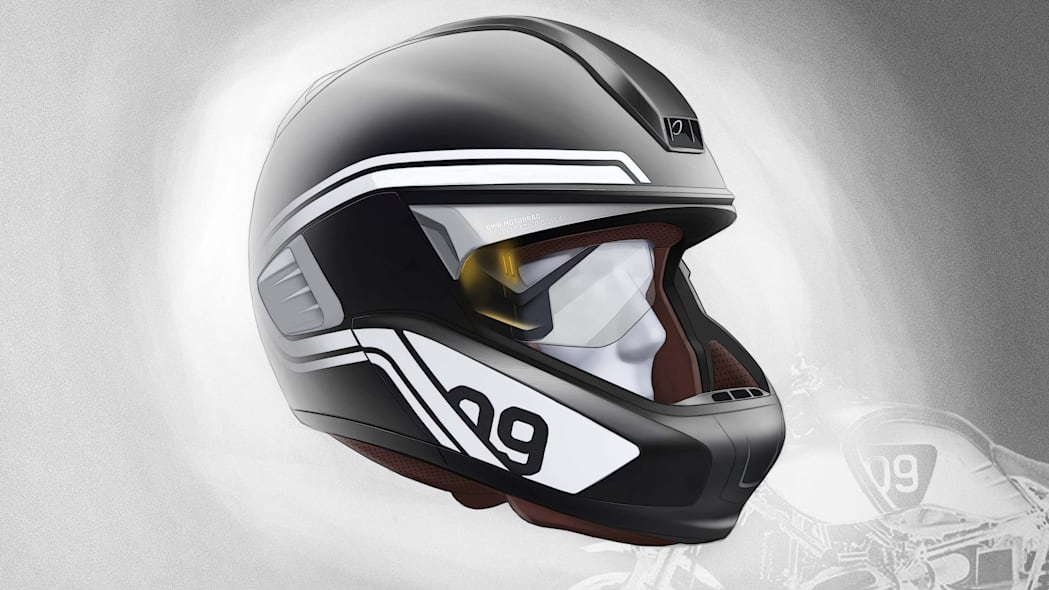 bmw connectedride helmet eye