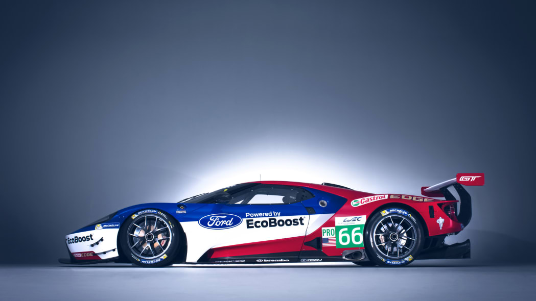 Ford GT profile