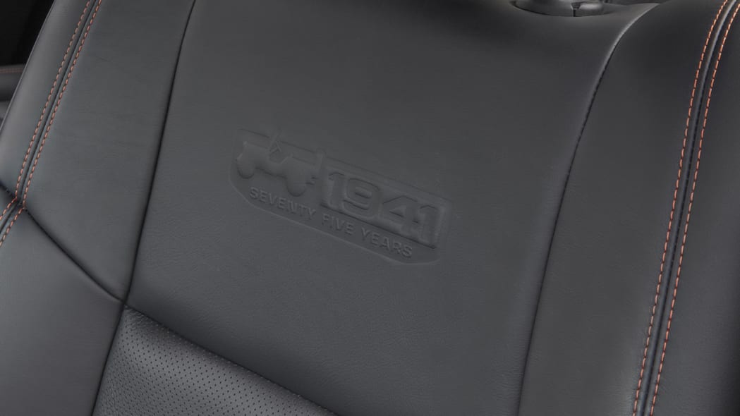 2016 Jeep Wrangler Unlimited 75th Anniversary Edition seat