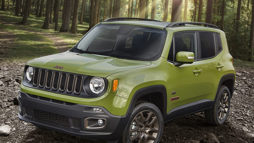 2016 Jeep Renegade 75th Anniversary Edition front 3/4