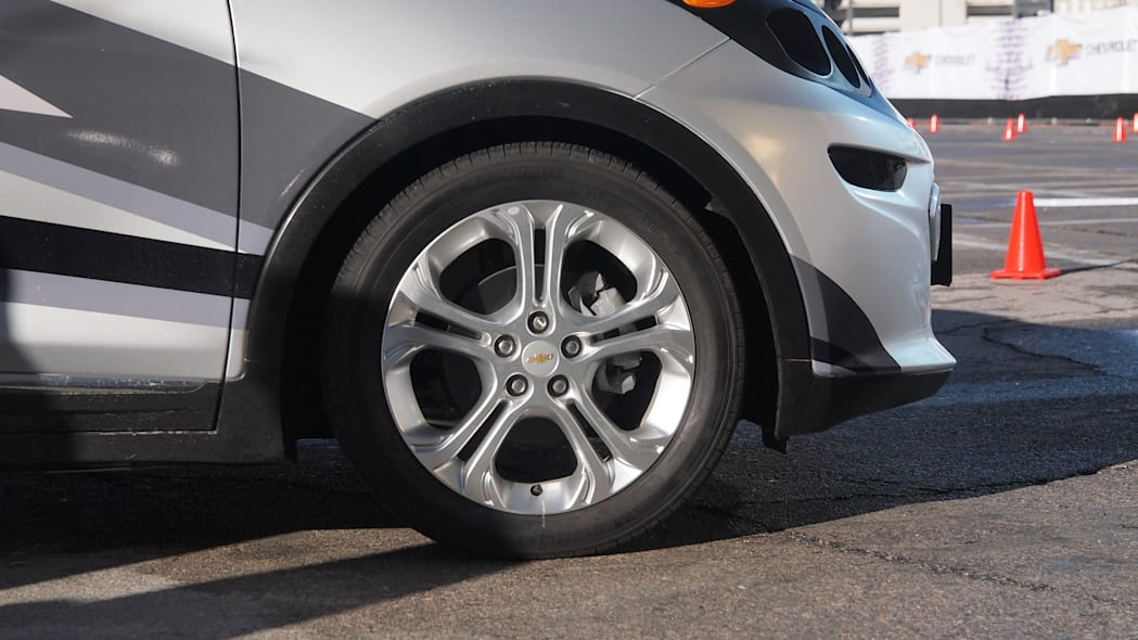 Chevy Bolt Prototype wheel and front tires