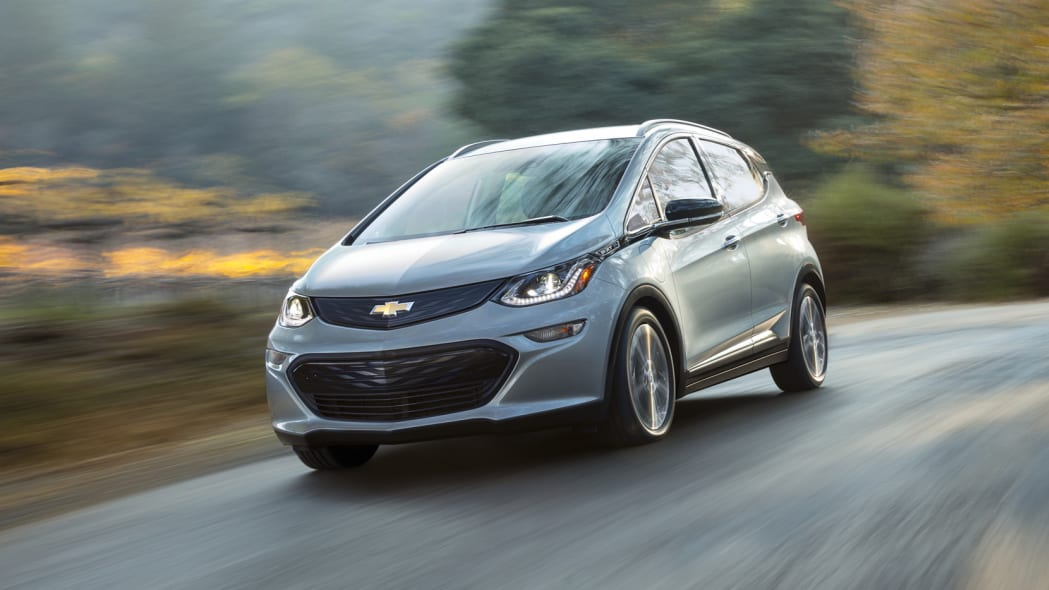 2017 Chevy Bolt in motion