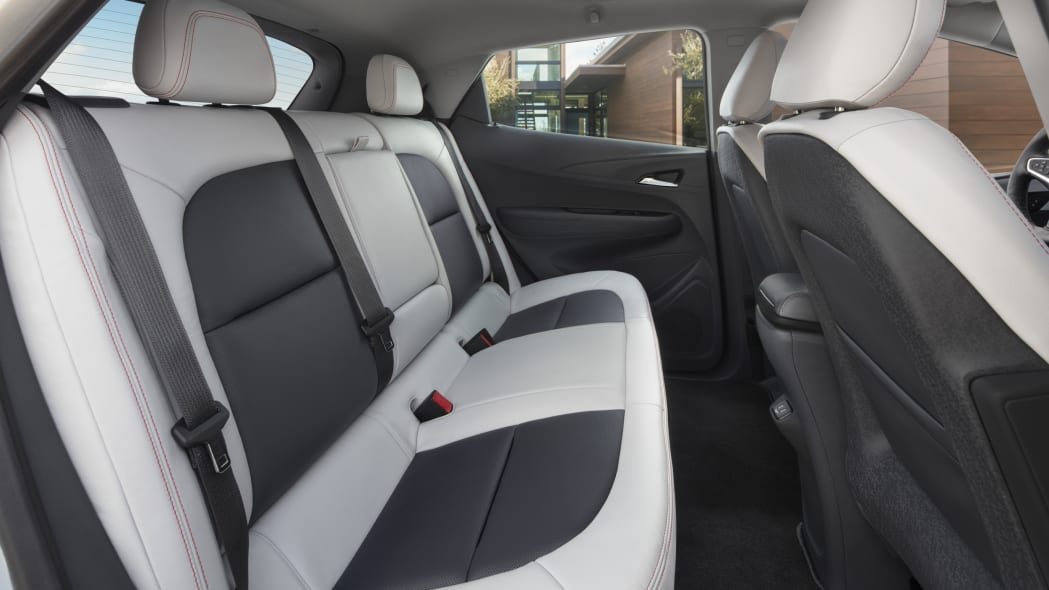 2017 Chevy Bolt rear seats